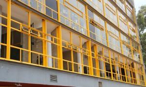 Cambio de cancelería 1er piso Edif A
