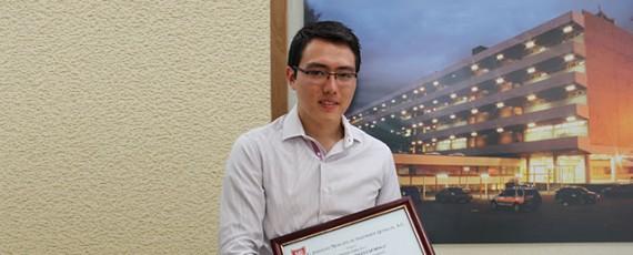 Premio a la excelencia, Oliver Funabazama Bárcenas