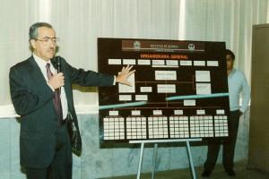 Organigrama Primera Campaña por el Ing. Benito Bucay