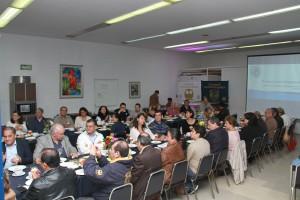 Reunión con egresados, 30 mayo