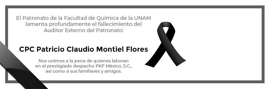 Esquela Patricio Claudio Montiel Flores