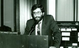Exrector Dr. Francisco Barnés de Castro Director de la Facultad de Química a lo largo de la 1er. Campaña