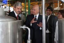 Visita del Rector Dr. José Narro al Laboratorio de Ingeniería Química del Conjunto