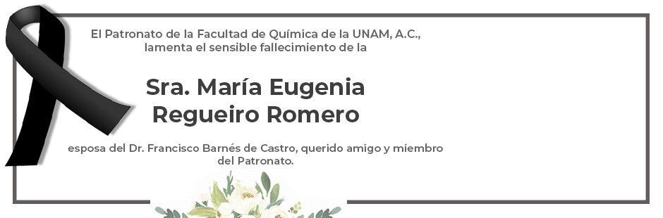 Esquela María Eugenia Regueiro Romero