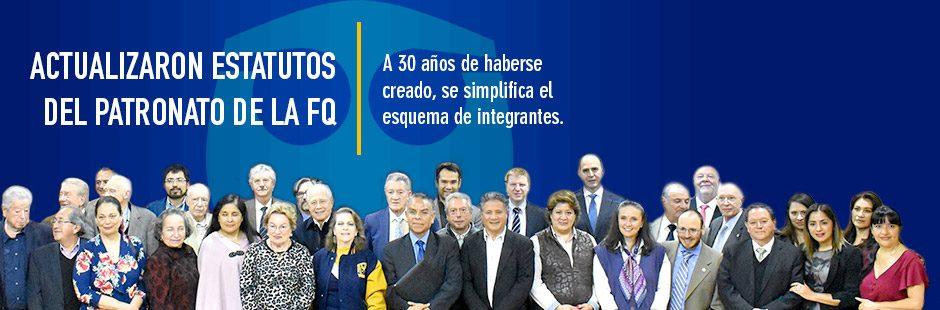 Banner actualizan estatutos del Patronato de la FQ