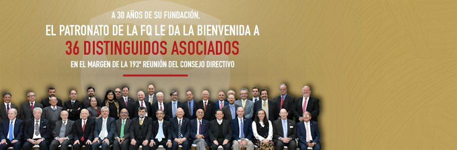 Banner Se integra grupo de distinguidos Asociados al Patronato de la FQ a 30 años de su fundación