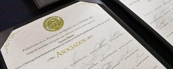 Se Integra grupo de distinguidos Asociados al Patronato de la FQ a 30 años de su fundación